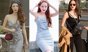 Street style sao Việt tuần qua: Người layer ấm áp, kẻ váy ngắn sexy