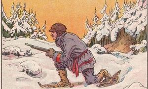 Chỉ 5% người tìm ra con gấu giúp bác thợ săn