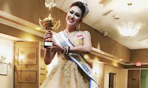 Phần thi ứng xử hài hước của Phi Thanh Vân ở Hoa hậu Doanh nhân