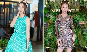 Hot girl Việt lên đời đẳng cấp thời trang dự tiệc từ khi vào showbiz