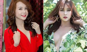 Những hot girl Việt bị nghi theo trào lưu nâng cấp vòng một