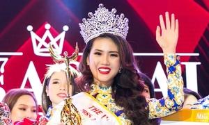 Vẻ đẹp của nữ sinh Hà Nội vừa đăng quang Miss Áo dài