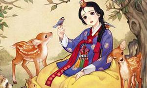 Khi các nàng công chúa Disney xuyên không về Hàn Quốc thời cổ đại