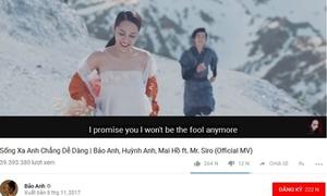 MV 40 triệu view của Bảo Anh có nguy cơ bị 'xóa sổ' khỏi YouTube