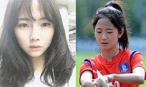 'Thiên thần' xinh đẹp và tài năng của làng bóng đá Hàn Quốc