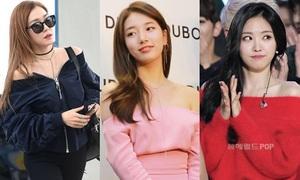 5 nữ thần tượng sở hữu bờ vai sexy nhất Kpop