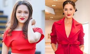 Hành động của 'chị Đại' Lukkade sau follow Instagram Hương Giang idol