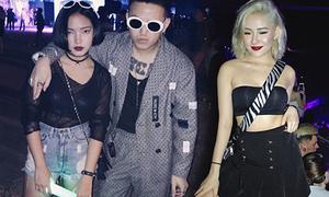 Thời trang sexy, cool ngầu của hot girl Việt khi đi 'quẩy'