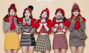Bóc giá tủ đồ đón Giáng sinh của Twice trong album mới