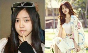 Nhan sắc sao nữ Kpop trước và sau khi makeup