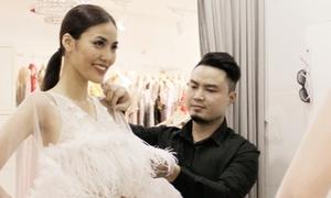 Hé lộ trang phục vedette của Lan Khuê trong show diễn 2 tỷ đồng