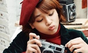 'Soái ca nhí' Thiên Khôi đáng yêu trong quà Giáng sinh tặng fan