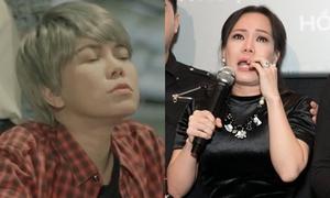 Việt Hương bật khóc nói về vai 'xã hội đen' trong phim ca nhạc