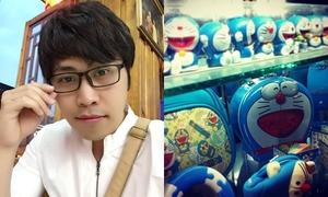 Chàng bác sĩ trẻ 'dành cả thanh xuân' để sưu tầm Doraemon