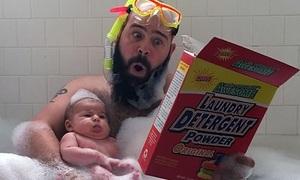 Cặp cha và con gái đáng yêu đang gây bão trên Instagram