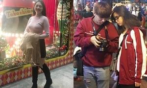 Giới trẻ Sài thành xúng xính áo ấm pose hình Giáng sinh giữa 'mùa đông'