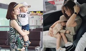3 cặp 'mẹ hot girl - con sành điệu' gây sốt nhất 2017