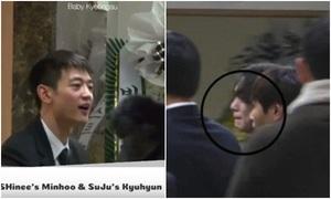 Min Ho cố mạnh mẽ, Key bật khóc khi đến viếng Kim Jong Hyun