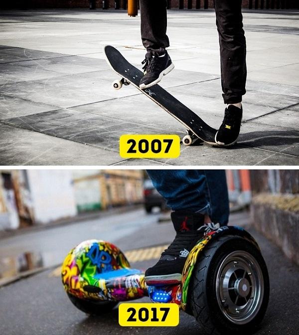 Những đổi thay không ngờ từ năm 2007 đến 2017