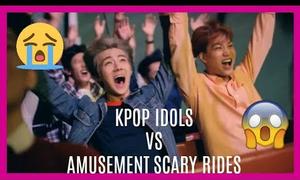 Idol Hàn mất hết hình tượng vì đi chơi công viên giải trí