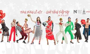 'Team sang' top model xuất hiện trong bộ ảnh mừng Noel