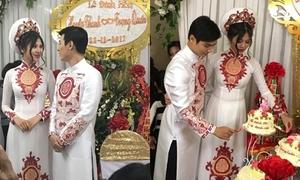 Chúng Huyền Thanh và bạn trai hot boy tổ chức đính hôn bí mật