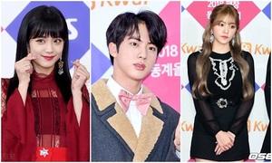 Dàn sao Hàn khoe nhan sắc đẳng cấp tại SBS Gayo Daejun 2017