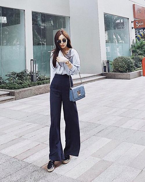 Sao Việt phối đồ đơn giản vẫn chất lừ trong street style tuần qua