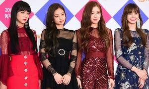 Gayo Daejun 2017: Jennie diện đồ sang chảnh, BTS đóng bộ toàn Gucci
