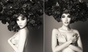 Loạt mỹ nhân Việt chụp ảnh bán nude táo bạo