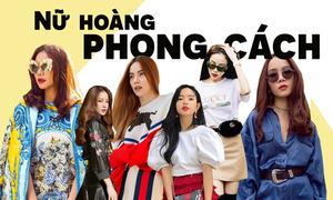 Những người đẹp Việt là 'nữ hoàng phong cách' của năm 2017