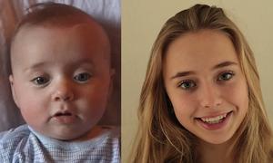 Sự thay đổi của cô gái từ khi mới ra đời đến năm 16 tuổi