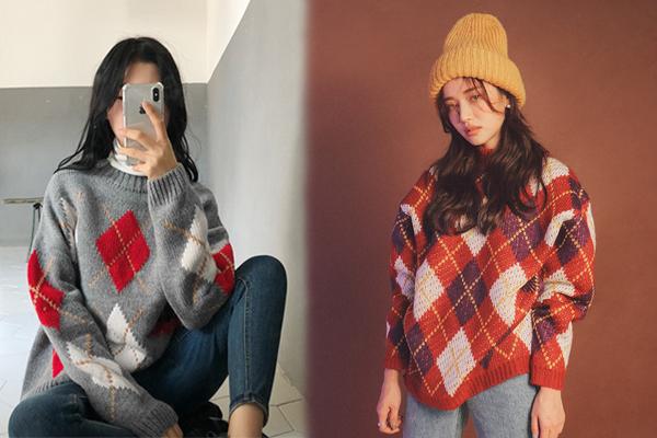 6 kiểu áo len đặc trưng mùa đông của con gái Hàn - 2