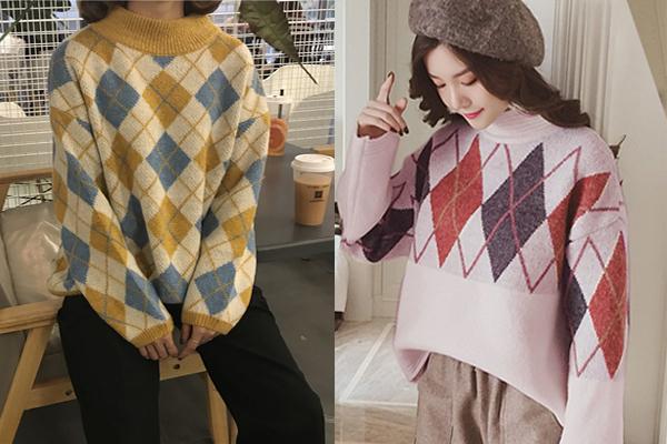 6 kiểu áo len đặc trưng mùa đông của con gái Hàn - 3