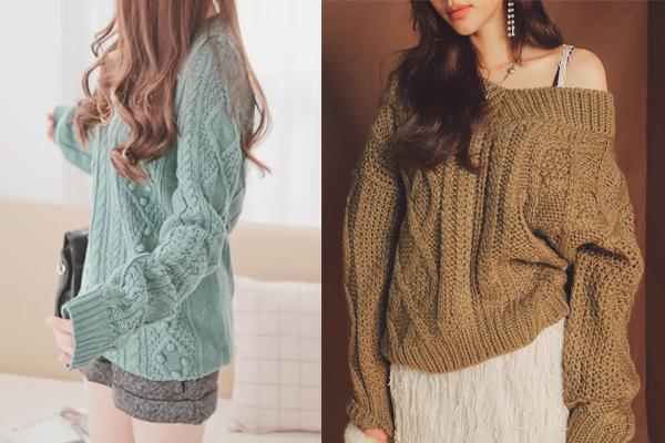 6 kiểu áo len đặc trưng mùa đông của con gái Hàn - 5