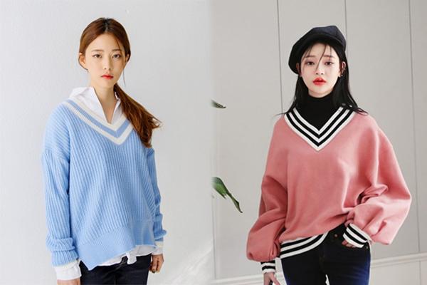 6 kiểu áo len đặc trưng mùa đông của con gái Hàn - 6