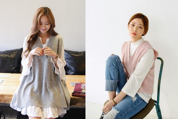 6 kiểu áo len đặc trưng mùa đông của con gái Hàn - 8