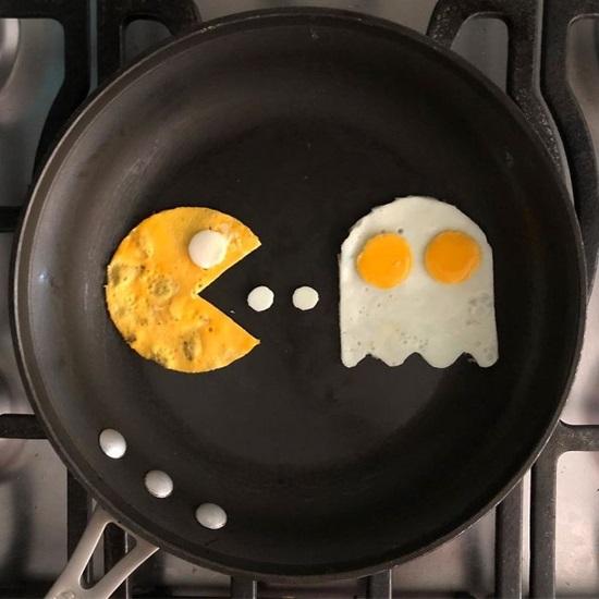 Tác phẩm nghệ thuật độc đáo từ quả trứng - 3