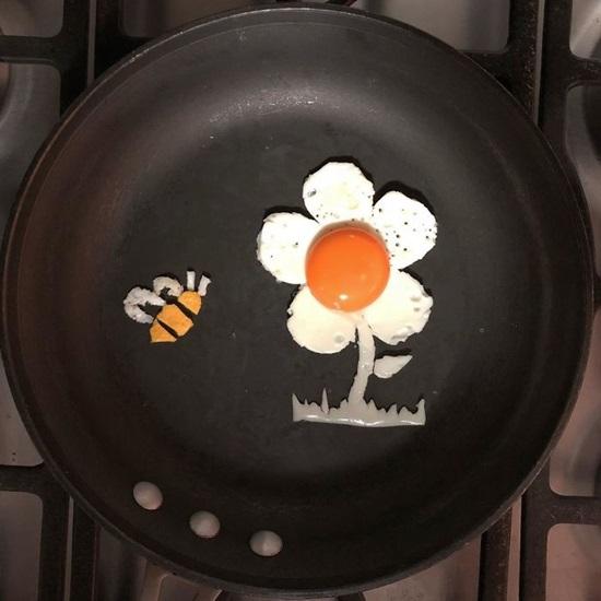 Tác phẩm nghệ thuật độc đáo từ quả trứng - 6