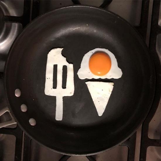 Tác phẩm nghệ thuật độc đáo từ quả trứng - 8