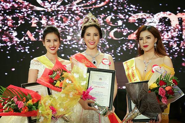 Hot girl Hà Lade đăng quang Á hậu Nữ hoàng trang sức 2017