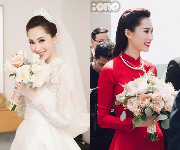 6 cô dâu hot nhất showbiz Việt 2017 - 1