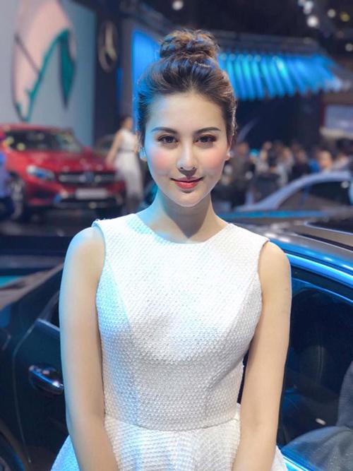 Hot girl Hà Lade đăng quang Á hậu Nữ hoàng trang sức 2017 - 3