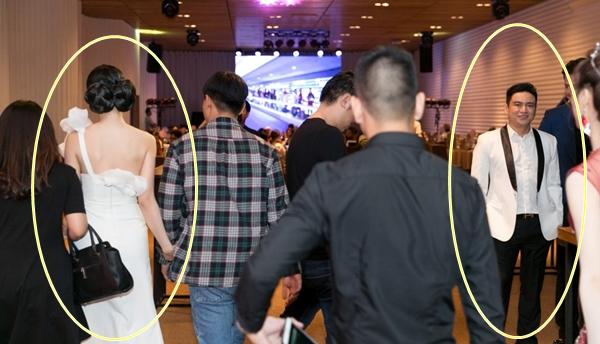 Cuộc đụng độ bất ngờ giữa nữ diễn viên và tình cũ tại bữa tiệc gây nên sự thiếu tự nhiên.