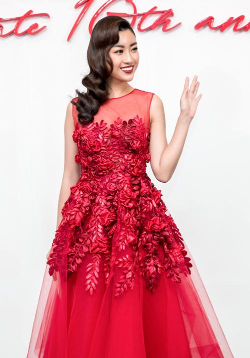 Dàn mỹ nhân Việt nhuộm đỏ show diễn 10 năm của Đỗ Mạnh Cường - 6