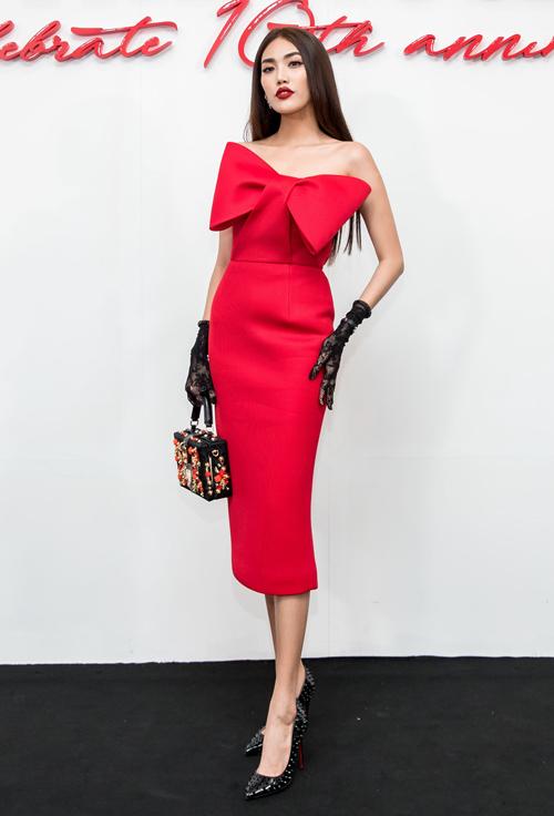 Dàn mỹ nhân Việt nhuộm đỏ show diễn 10 năm của Đỗ Mạnh Cường - 8