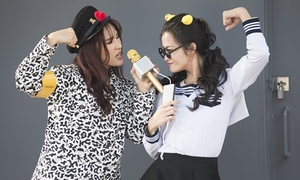 Đông Nhi hóa nữ sinh 'cưa sừng làm nghé'