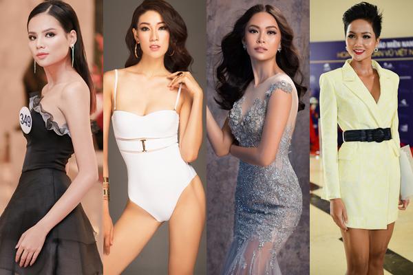 Hàng loạt người mẫu đẹp lạ thử sức thi hoa hậu.