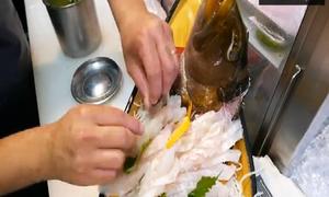Với một con cá, người Nhật có thể chế biến bao nhiêu món ăn?