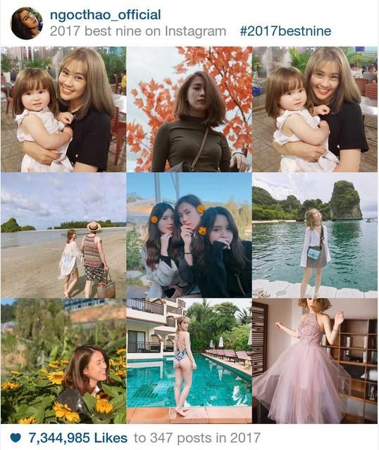 9 khoảnh khắc hot nhất 2017 trên Instagram sao Việt hơn 1 triệu fan - 6
